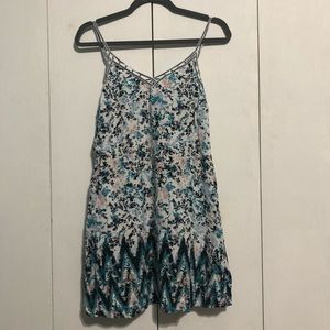 Aeropostale Patterned Tank Top Dress